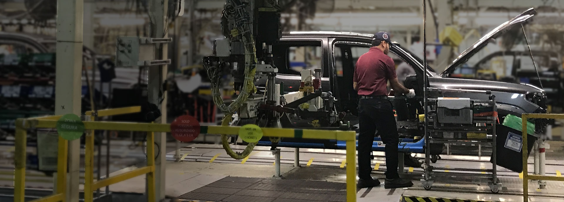automotive manufacturing production line